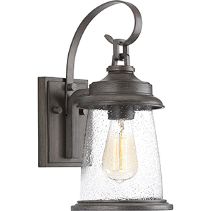 P560083-103: Conover Antique Pewter One-Light Outdoor Wall Sconce