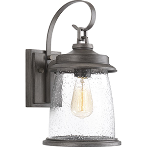 P560084-103: Conover Antique Pewter One-Light Outdoor Wall Sconce