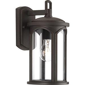 P560088-020: Gables Antique Bronze One-Light Outdoor Wall Sconce