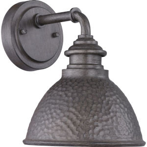 Englewood Antique Pewter Outdoor Wall Lantern