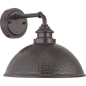 Englewood Antique Bronze One-Light Outdoor Wall Lantern