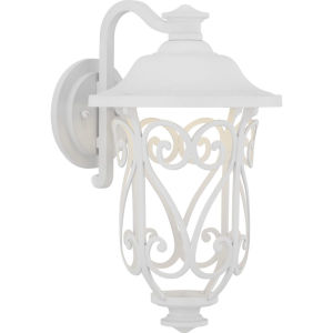 White LED One-Light Outdoor Wall Lantern