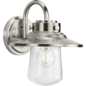 Tremont Stainless Steel One-Light Outdoor Wall Lantern