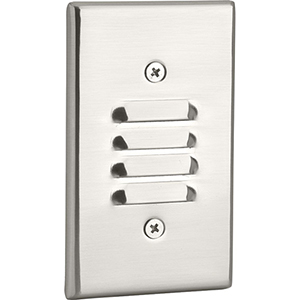 P660003-009-30K: Brushed Nickel LED Step Light