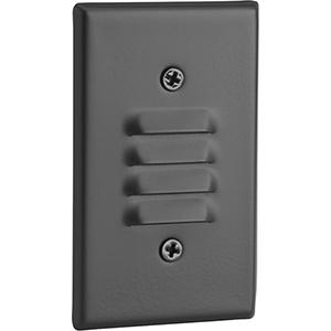 P660003-031-30K: Black LED Step Light
