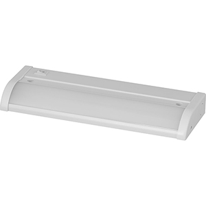 P700000-028-30: Satin White Energy Star LED Under Cabinet Light