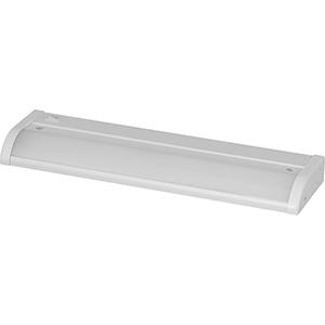 P700001-028-30: Satin White Energy Star LED Under Cabinet Light