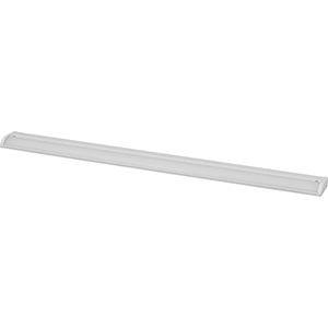 P700004-028-30: Satin White Energy Star LED Under Cabinet Light