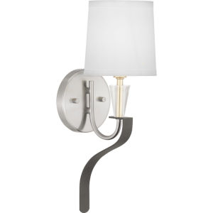 Nealy Brushed Nickel One-Light wall sconce