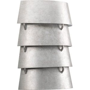 Surfrider Galvanized Two-Light Wall Sconce