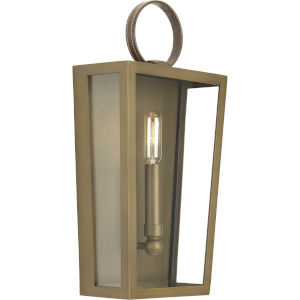 Shearwater Aged Brass One-Light Wall Sconce