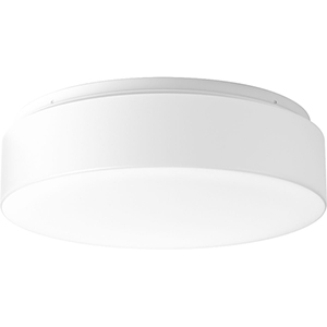 P730002-030-30: Drums and Clouds White Energy Star LED Flush Mount