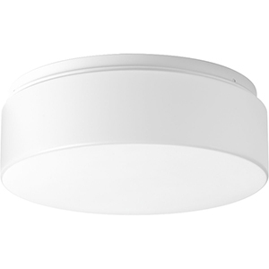 P730005-030-30: Drums and Clouds White Energy Star LED Flush Mount
