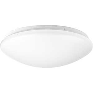 P730006-030-30: Drums and Clouds White Energy Star LED Flush Mount