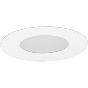 P800005-009-30: Edgelit Recessed Brushed Nickel Energy Star LED Recessed Light