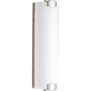 P2093-0930K9 Balance Brushed Nickel 17-Inch Three-Light Energy Star LED Bath Sconce
