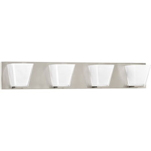 P2126-09 Streaming Brushed Nickel 30-Inch Four-Light Bath Sconce