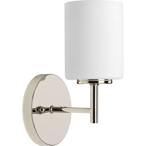 P2131-104 Replay Polished Nickel 5-Inch One-Light Bath Sconce