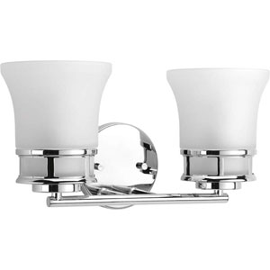 P2147-15 Cascadia Polished Chrome Two-Light Vanity