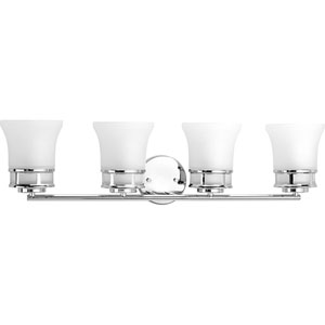 P2149-15 Cascadia Polished Chrome Four-Light Vanity