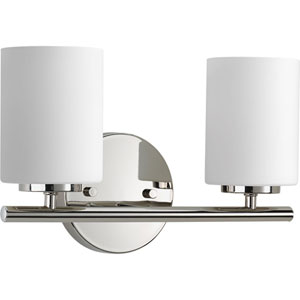 P2158-104 Replay Polished Nickel Two-Light Vanity