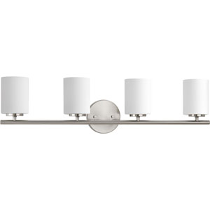 P2160-09 Replay Brushed Nickel Four-Light Vanity