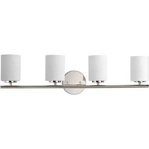 P2160-104 Replay Polished Nickel Four-Light Vanity