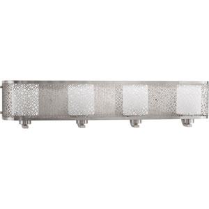 P2164-09 Mingle Brushed Nickel Four-Light Vanity