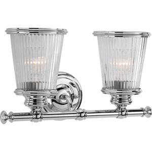 P2170-15 Radiance Polished Chrome Two-Light Vanity