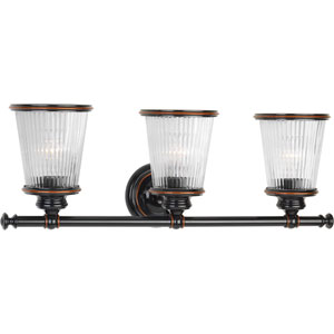 P2171-139 Radiance Rubbed Bronze Three-Light Vanity