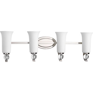 P2174-104 Elina Polished Nickel Four-Light Vanity