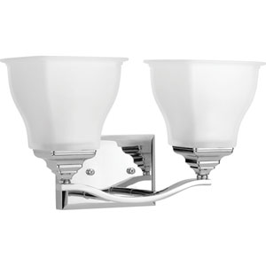 P2176-15 Callison Polished Chrome Two-Light Vanity