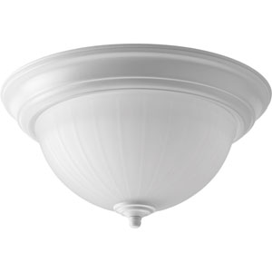 P2304-3030K9 White 11.5-Inch One-Light Energy Star LED Flush Mount