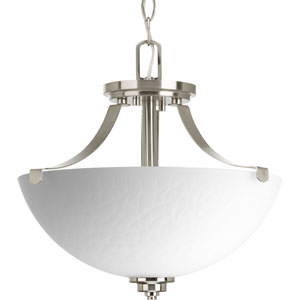 P2315-09 Legend Brushed Nickel 14.5-Inch Two-Light Pendant