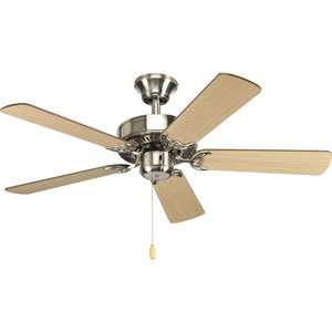 AirPro Brushed Nickel 42-Inch 5 Blade Ceiling Fans
