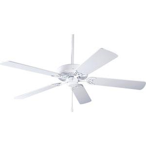 P2501-30:  52-Inch White Ceiling Fan