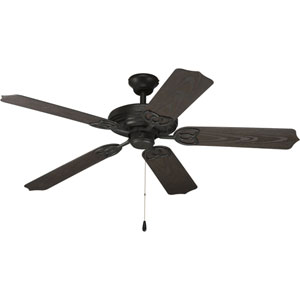 AirPro Forged Black Ceiling Fan with 5 52-Inch Blades