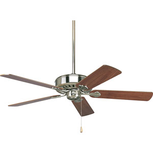 P2503-09:  52-Inch Brushed Nickel Ceiling Fan