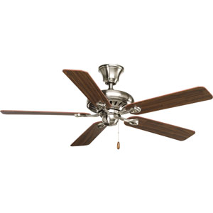 P2521-09WA Signature Brushed Nickel 52-Inch Energy Star Ceiling Fan