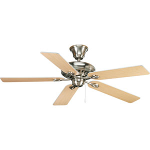 P2521-09:  52-Inch Brushed Nickel Energy Star Ceiling Fan