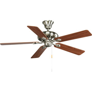 P2521-09CH:  Air Pro Brushed Nickel 52-Inch Energy Star Ceiling Fan