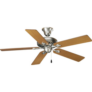 P2521-81:  52-Inch Antique Nickel Energy Star Ceiling Fan