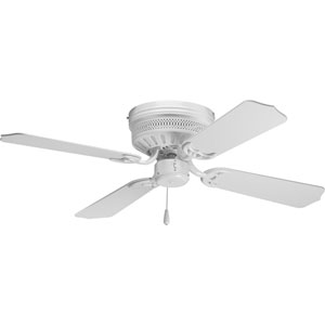 AirPro Hugger White 8.37-Inch Ceiling Fans