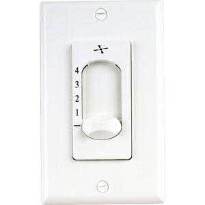 White 4.5-Inch Fan Control