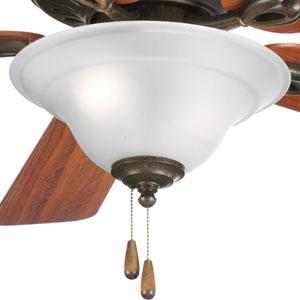 P2628-77:  Trinity Forged Bronze Two-Light Fan Light Kit