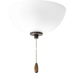P2658-20WB Gather Antique Bronze Two-Light Energy Star Fluorescent Ceiling Fan Light Kit