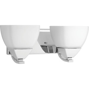 P2701-15 Appeal Polished Chrome Two-Light Vanity