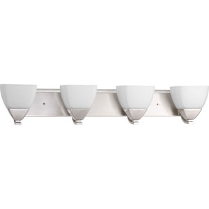 P2703-09 Appeal Brushed Nickel Four-Light Vanity