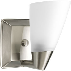 P2805-09:  Rizu Brushed Nickel One-Light Bath Fixture