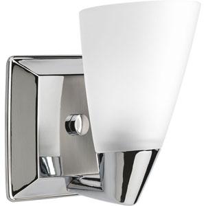 P2805-15:  Rizu Polished Chrome One-Light Bath Fixture